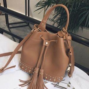 Handbags - Austin River Tassel Bucket Bag